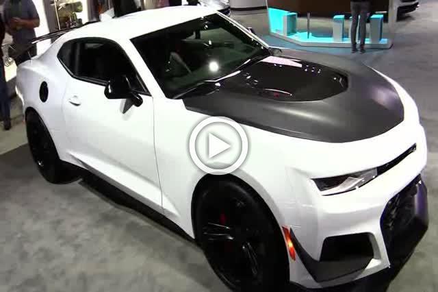 2018 Chevrolet Camaro ZL1 Exterior and Interior Walkaround Part II
