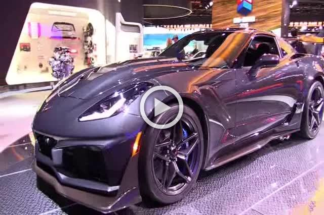 2018 Chevrolet Corvette ZR1 Exterior and Interior Walkaround Part III