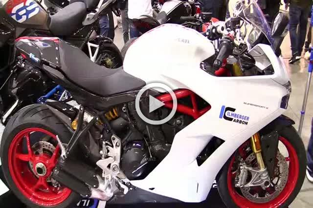 2018 Ducati Supersport S Ilmberger Carbon Customized Walkaround