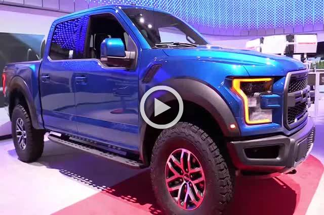 2018 Ford F150 Raptor Supercrew Exterior and Interior Walkaround Part II