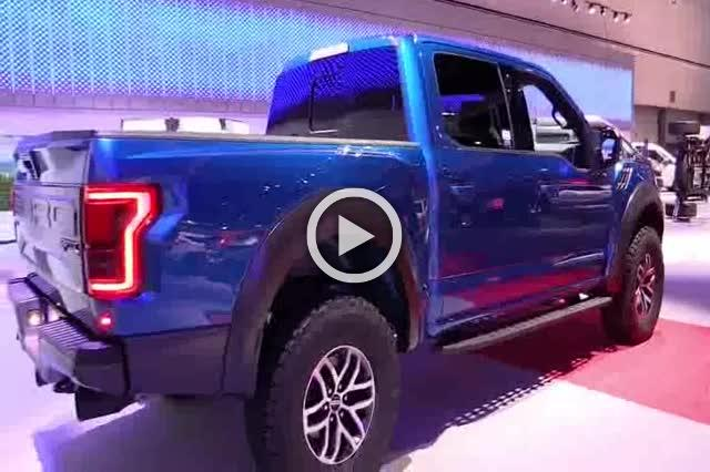 2018 Ford F150 Raptor Supercrew Exterior and Interior Walkaround Part III
