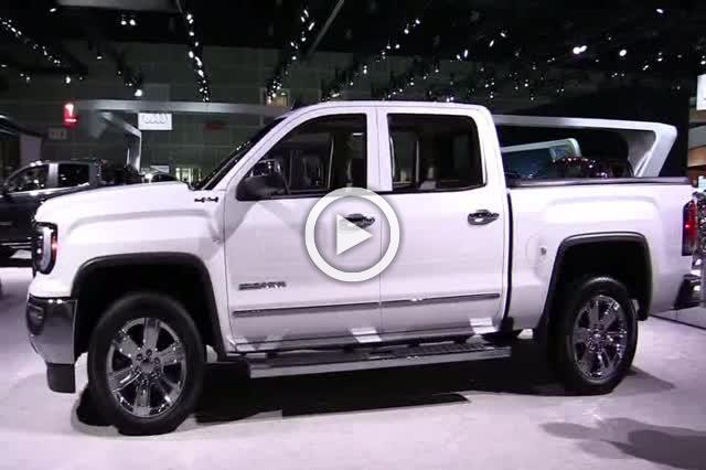 2018 GMC Sierra SLT Exterior and Interior Walkaround Part III