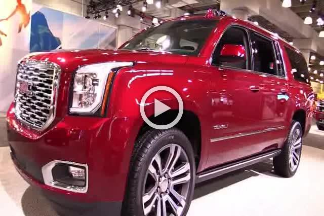 2018 GMC Yukon XL Denali Exterior and Interior Walkaround Part I