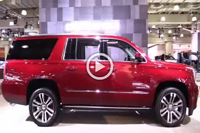 2018 GMC Yukon XL Denali Exterior and Interior Walkaround Part II