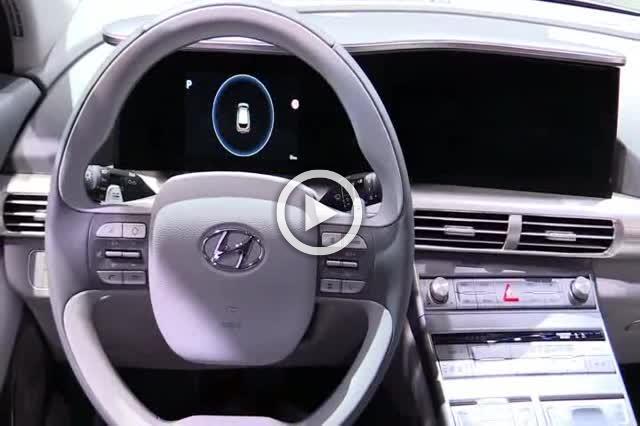 2018 Hyundai Nexo Hydrogen Vehicle Exterior Interior Walkaround Part III