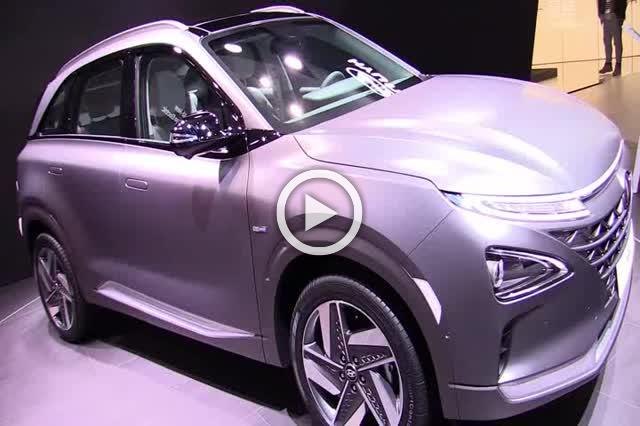 2018 Hyundai Nexo Hydrogen Vehicle Exterior Interior Walkaround Part I