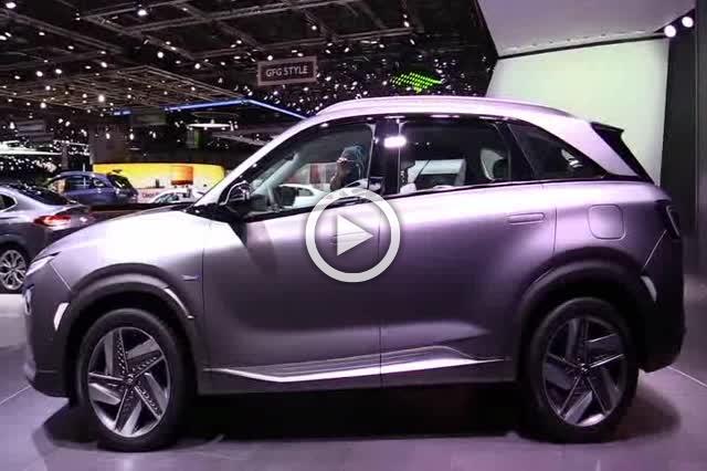 2018 Hyundai Nexo Hydrogen Vehicle Exterior Interior Walkaround Part II