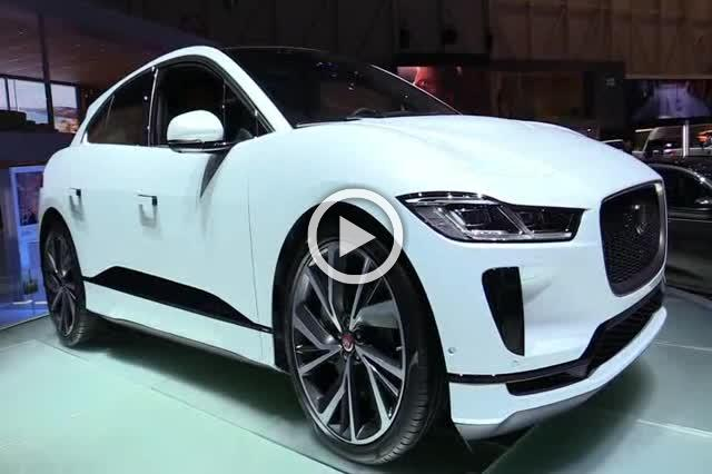 2018 Jaguar i Pace EV400 Electric SUV Exterior and Interior Walkaround Part I