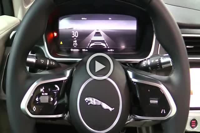 2018 Jaguar i Pace EV400 Electric SUV Exterior and Interior Walkaround Part II