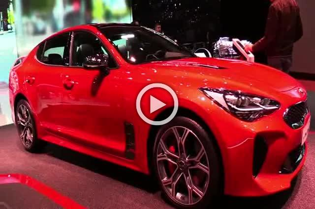 2018 KIA Stinger GT Exterior and Interior Walkaround Part II