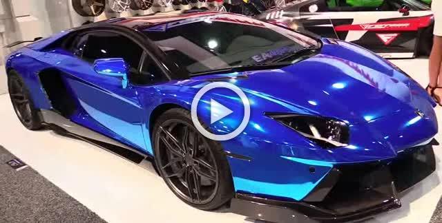 2018 Lamborghini Aventador with Ferrada Wheels Exterior Walkaround Part I