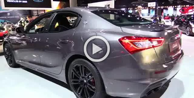 2018 Maserati Ghibli Gran Sport SQ4 Exterior and Interior Walkaround Part II