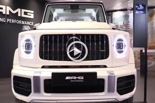 2018 Mercedes AMG G63 Exterior and Interior Walkaround Part III