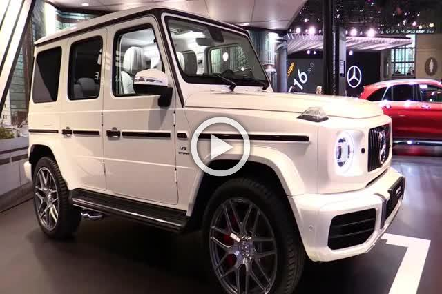 2018 Mercedes AMG G63 Exterior and Interior Walkaround Part I