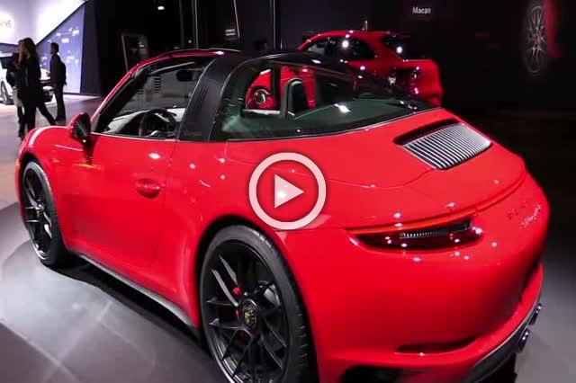 2018 Porsche 911 Targa 4 GTS Exterior and Interior Walkaround Part II