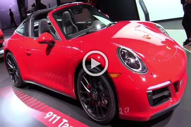 2018 Porsche 911 Targa 4 GTS Exterior and Interior Walkaround Part I