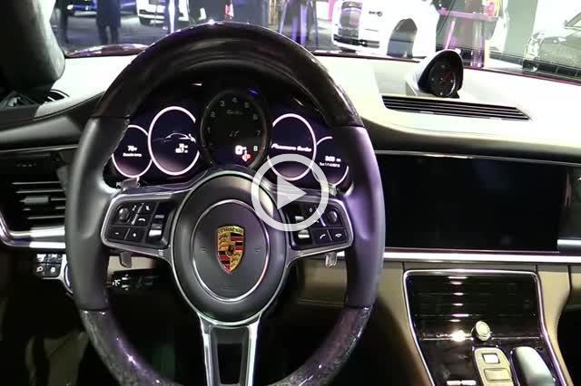 2018 Porsche Panamera Turbo Sport Turismo Part III