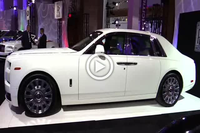 2018 Rolls Royce Phantom Exterior and Interior Walkaround Part I