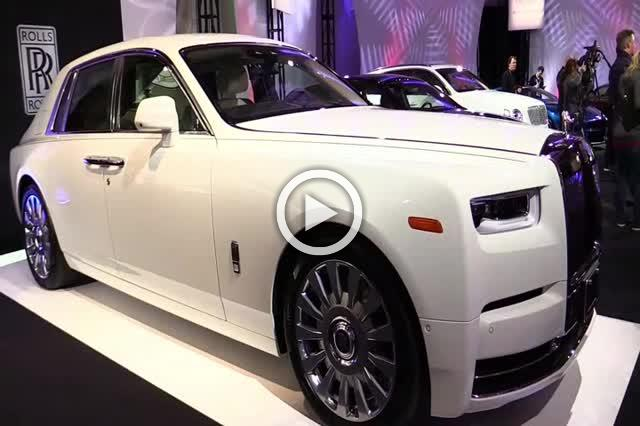 2018 Rolls Royce Phantom Exterior and Interior Walkaround Part III