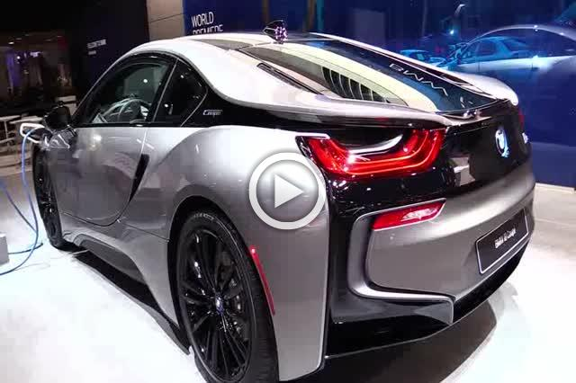 2019 BMW i8 Coupe Exterior and Interior Walkaround Part II