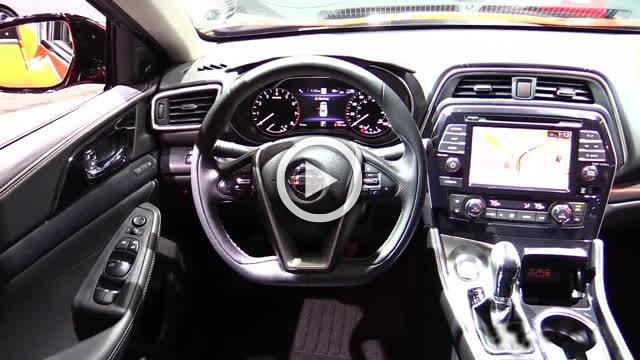 Nissan Maxima Exterior and Interior Walkaround Part II