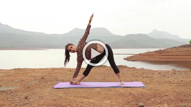 Trikonasana The Triangle Pose