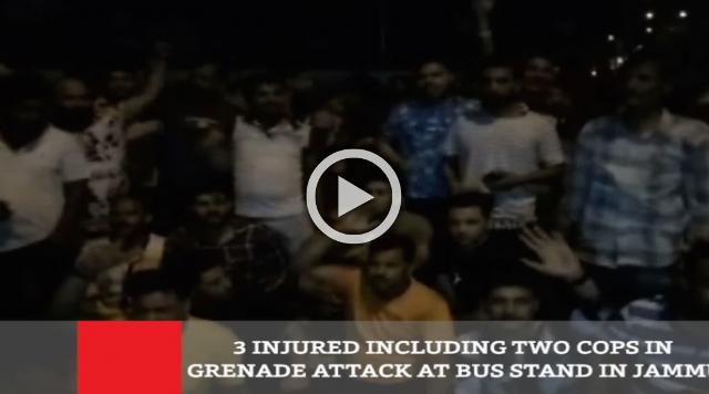 3 Injured Including Two Cops In Grenade Attack At Bus Stand In Jammu