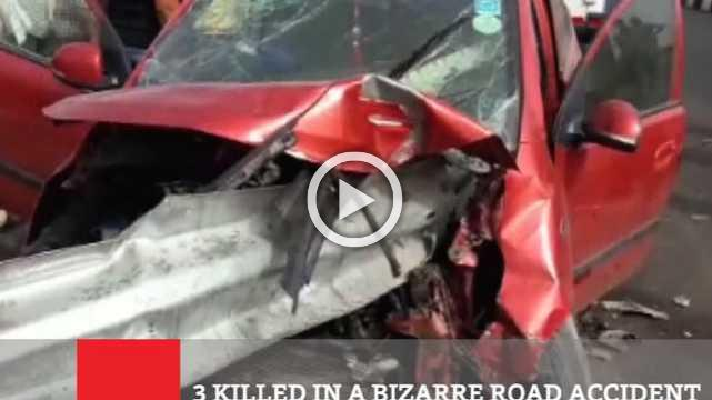 3 Killed In A Bizarre Road Accident