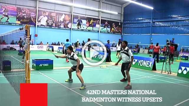 42ND Masters National Badminton Witness Upsets