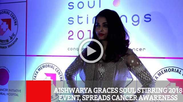 Aishwarya Graces Soul Stirring 2018 Event, Spreads Cancer Awareness