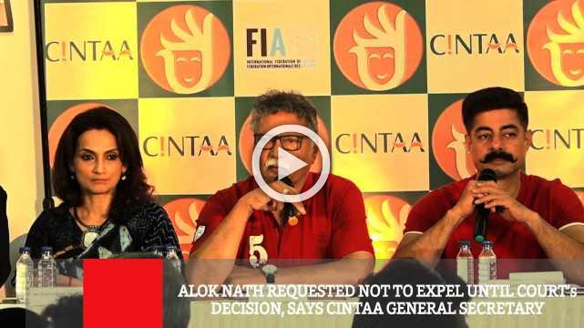 Alok Nath Requested Not To Expel Until Court's Decision, Says Cintaa General Secretary