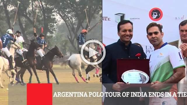 Argentina Polo Tour Of India Ends In A Tie