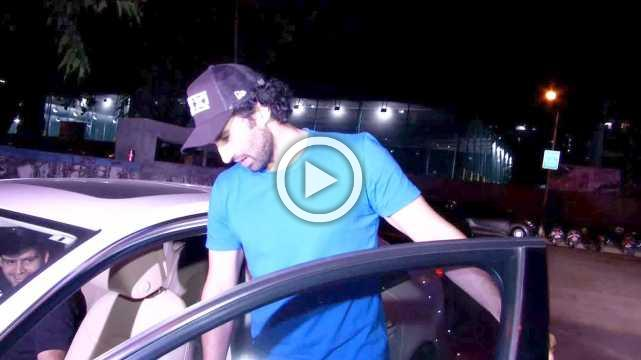 Aaditya Roy Kapoor Goes Movie Watching