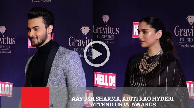 Aayush Sharma, Aditi Rao Hyderi Attend Urja  Awards
