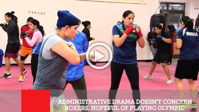 Administrative Drama Doesn't Concern Boxers, Hopeful Of Playing Olympic
