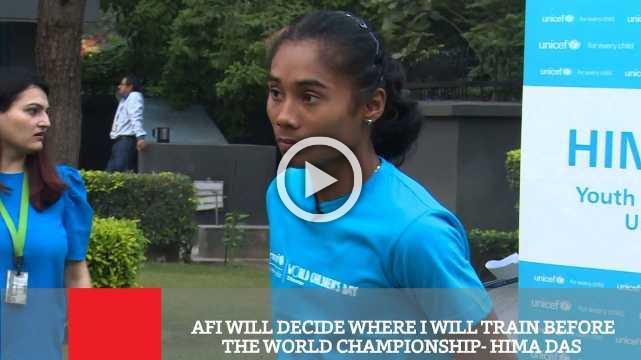 Afi Will Decide Where I Will Train Before The World Championship- Hima Das