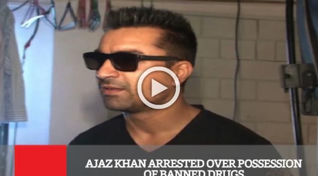 Ajaz Khan Arrested Over Possession Of Banned Drugs