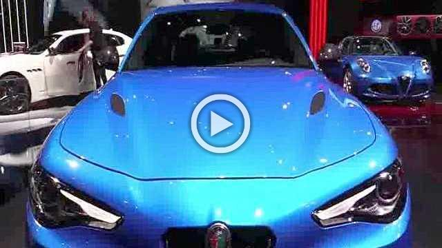 Alfa Romeo Giulia Quadrifoglio Exterior and Interior Walkaround Part II