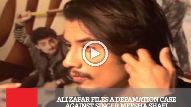 Ali Zafar Files A Defamation Case Against Singer Meesha Shafi