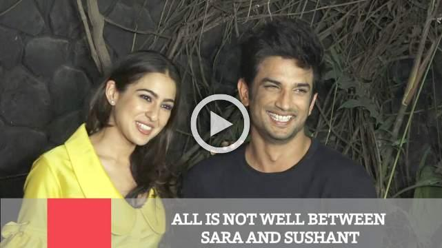 All Is Not Well Between Sara And Sushant