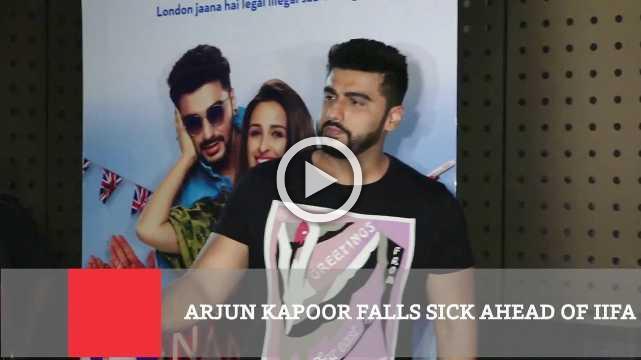 Arjun Kapoor Falls Sick Ahead Of IIFAgossips,bollywood songs,Bollywood,latest news,entertainment,Bollywood,Arjun Kapoor,International Indian Film Academy Awards gala,performance on stage.