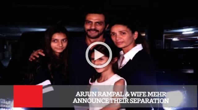 Arjun Rampal & Wife Mehr Announce Their Separation
