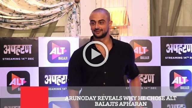 Arunoday Reveals Why He Chose Alt Balaji's Apharan