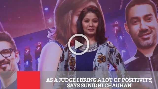 As A Judge I Bring A Lot Of Positivity, Says Sunidhi Chauhan