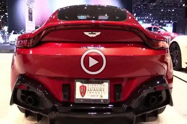 Aston Vantage Interior and Exterior Walkaround Auto Show Part II