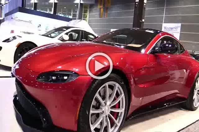 Aston Vantage Interior and Exterior Walkaround Auto Show Part I