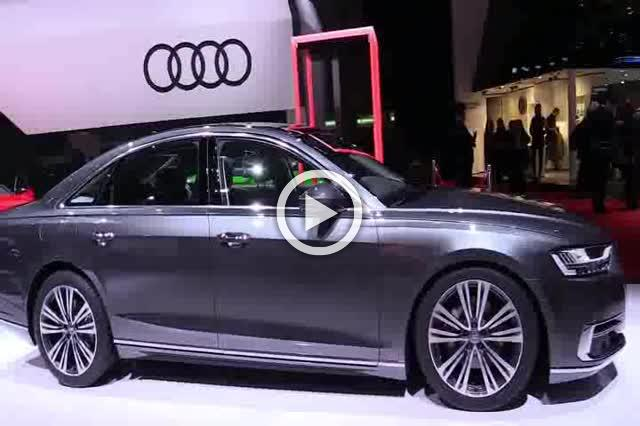 Audi A8 TDI Quattro Exterior and Interior Walkaround Part II