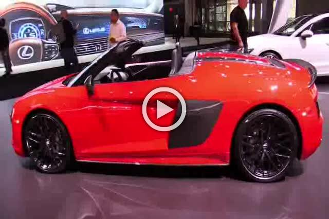 Audi R8 V10 Plus Spider Exterior and Interior Walkaround Part II