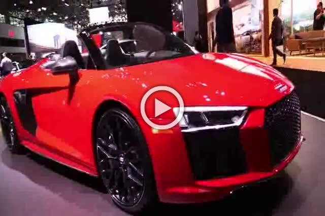 Audi R8 V10 Plus Spider Exterior and Interior Walkaround Part I