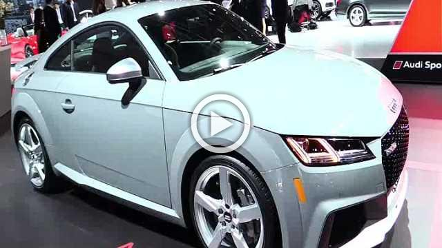 Audi TT RS Exterior and Interior Walkaround Part I